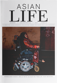 Asian Life magazine - current issue cover